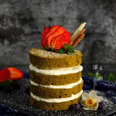草莓抹茶奶油蛋糕