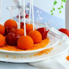 西红柿棒棒糖蛋糕的做法