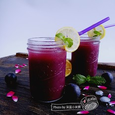 冰镇葡萄汁