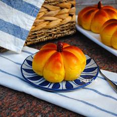 蜜豆南瓜小面包