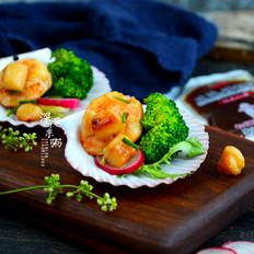 虾贝沙拉的做法