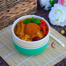 猴菇虫草排骨汤