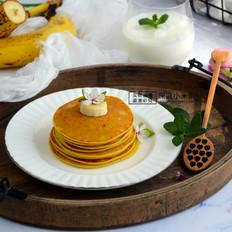 奶香香蕉早餐饼
