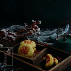 京式自来红月饼,老北京的味道!