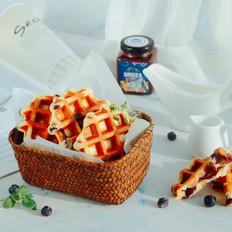 蓝莓华夫饼(酵母版)