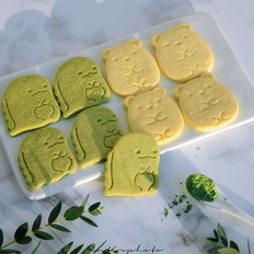 斑斓粉卡通饼干