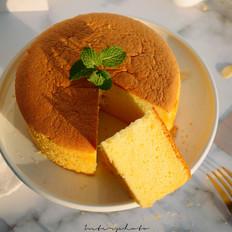 菠萝味戚风蛋糕