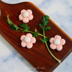 甜蜜花朵汤圆的做法