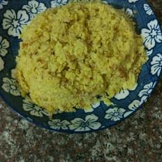 鸡蛋玉米渣