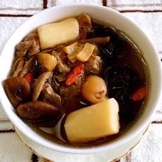 茶树菇龙骨汤