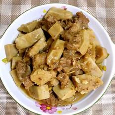 猪颈骨焖香芋