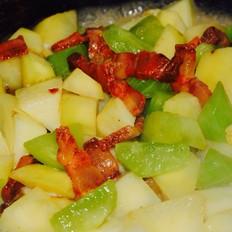 腊肉烧土豆