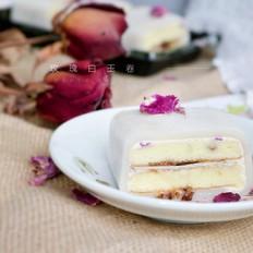 蛋糕界的大福——玫瑰白玉卷
