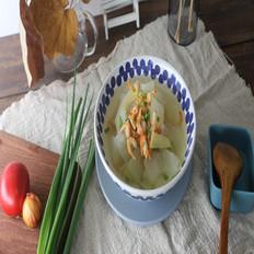 清火祛湿又消肿减脂的冬瓜金钩虾米汤