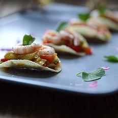 瘦身营养轻食--芦笋鲜虾盏