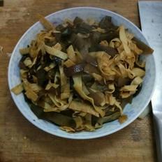 海带豆腐皮的做法大全
