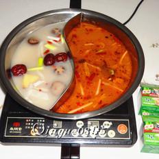 鸳鸯火锅汤底