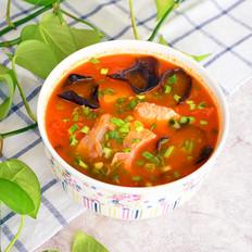 木耳番茄鱼片汤
