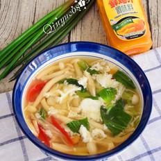 鲜香杂菌芙蓉汤