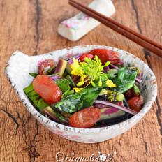 腊肠紫菜苔