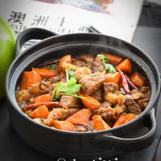 牛腩炖胡萝卜