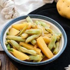 土豆烩豆角