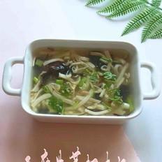 豆腐紫菜虾米汤