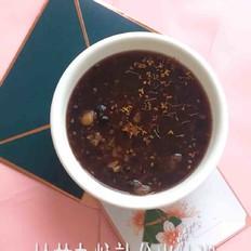 桂花杂粮熟谷米冰粥