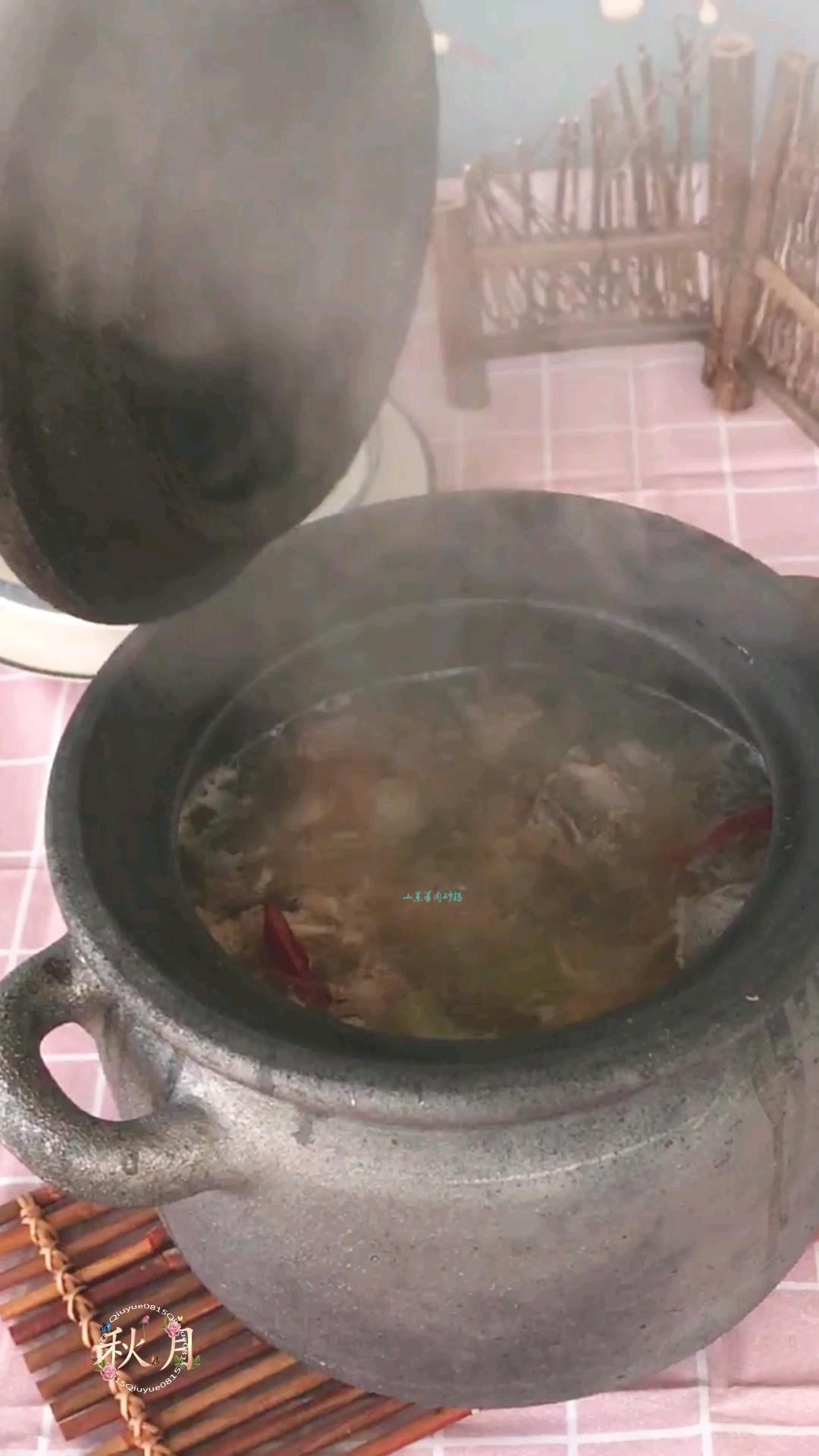 山药羊肉砂锅