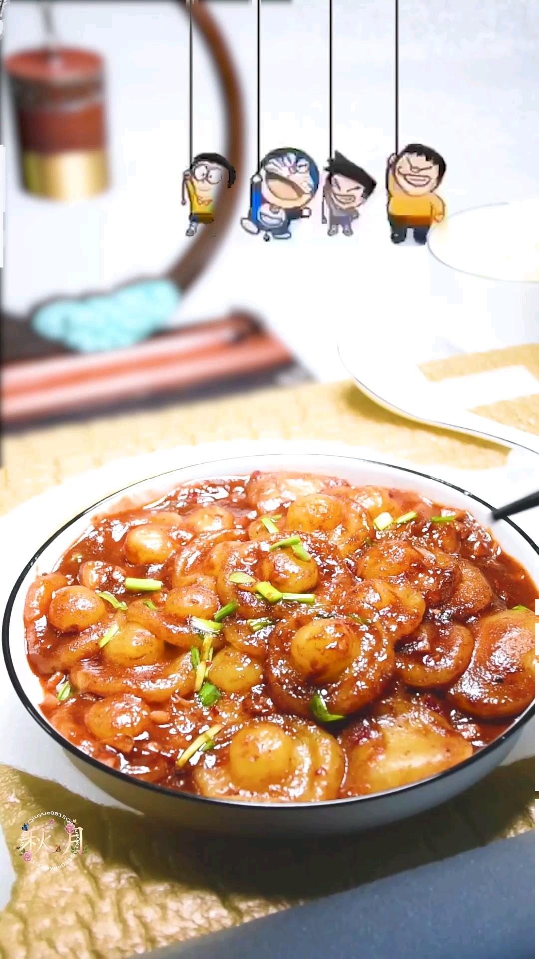 仿香菇土豆