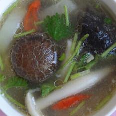 白萝卜菌汤