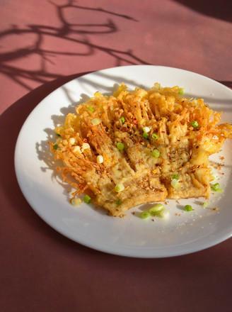 酥脆金针菇的做法