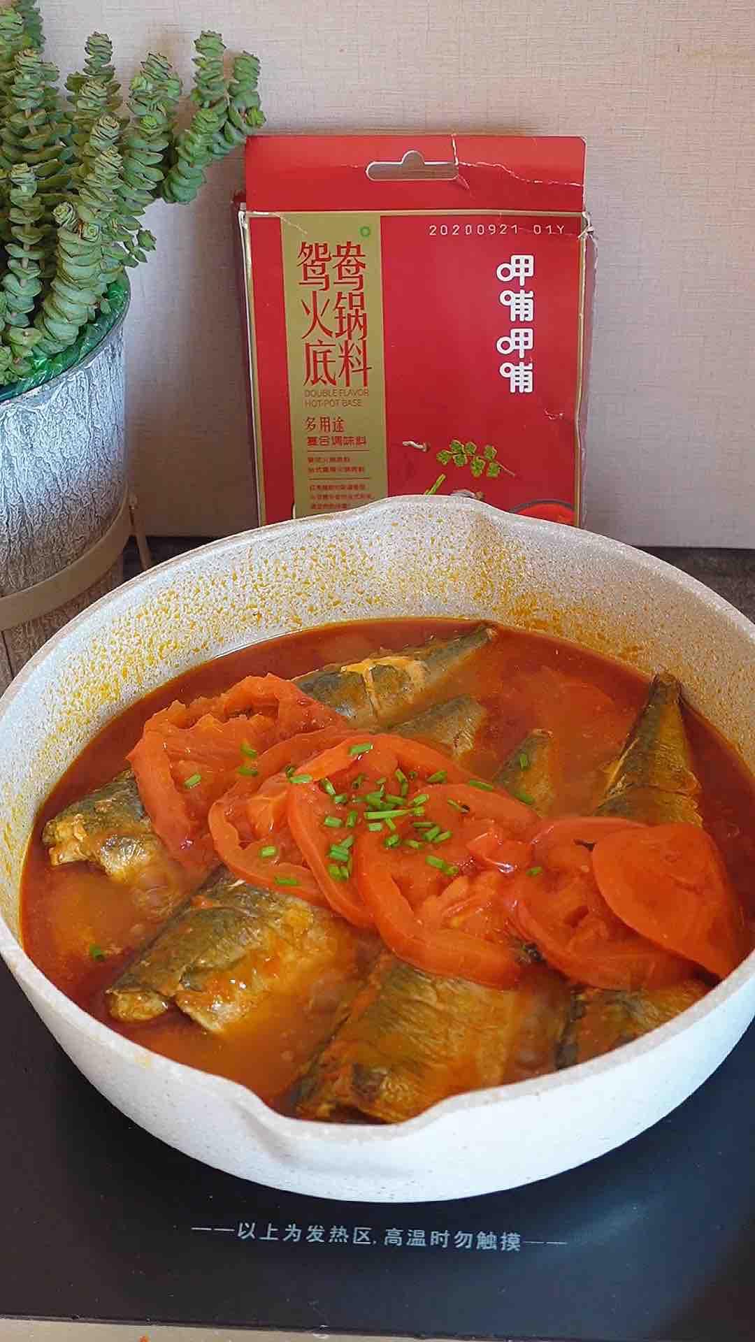 茄汁鲅鱼这么做,2分钟学会,汤汁拌饭太好吃啦