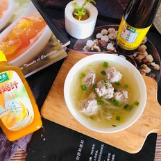 鸡汁丸子汤