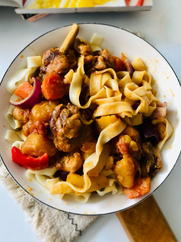 在家也成做出超级美味的大盘鸡,过程简单