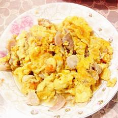 大蛤炒鸡蛋