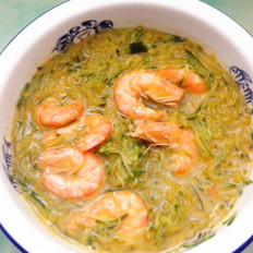 萝卜丝虾汤