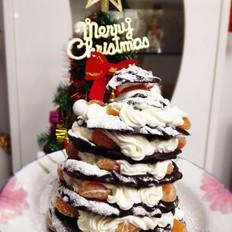 泡芙圣诞树