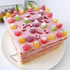 甜蜜蜜——方形小蛋糕