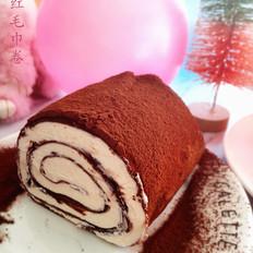 网红之毛巾卷蛋糕