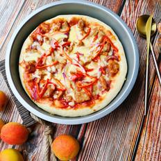 蜜汁烤肉披萨