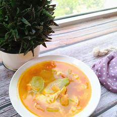 丝瓜西红柿汤