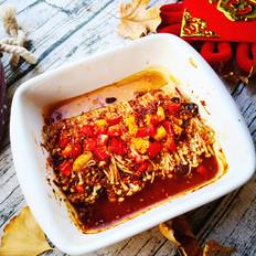 红红火火——烤金针菇