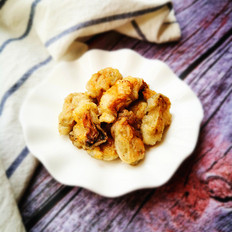 油煎海蛎子