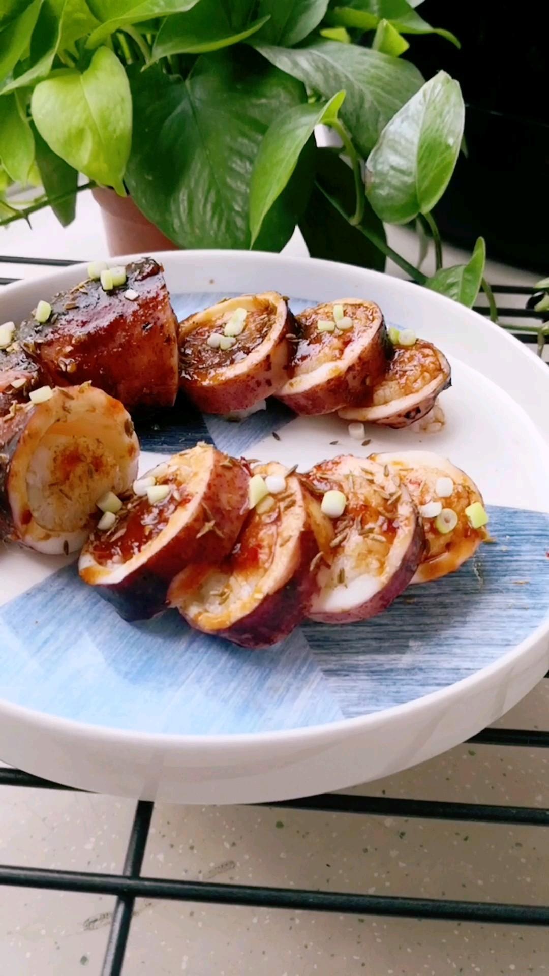 鱿鱼糯米饭