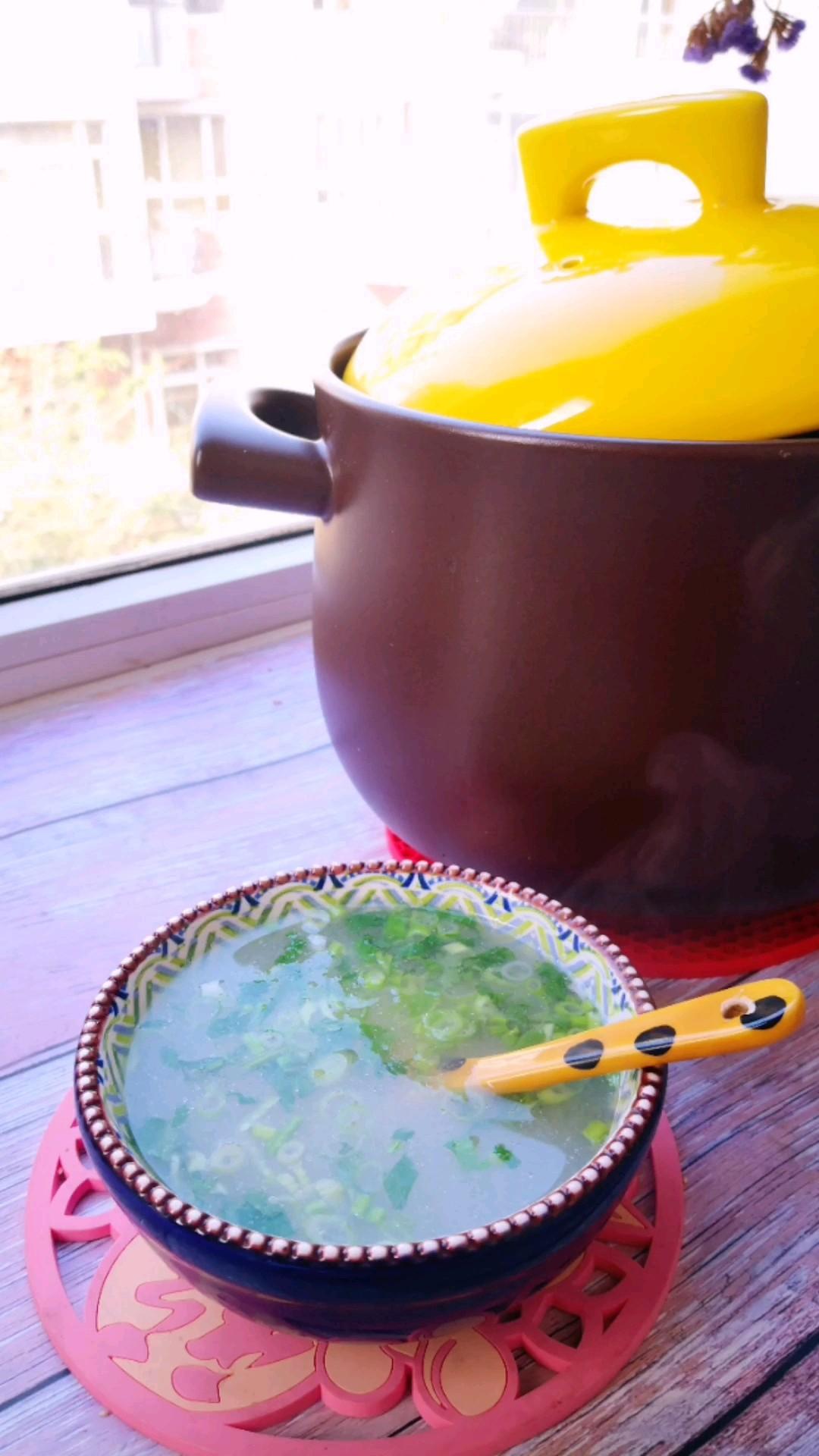 鲜美的黑鱼汤