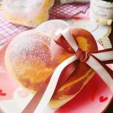 心心相依面包