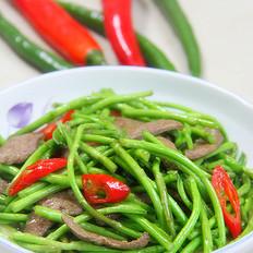 藜蒿炒猪肝