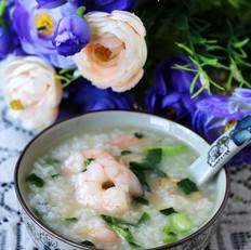蘑菇虾仁鲜笋菜泡饭