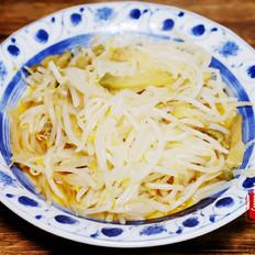 【添喜的厨房】 榨菜炒豆芽